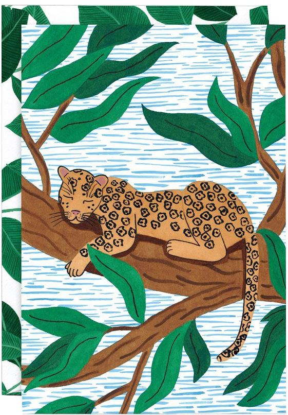 Leopard Karte