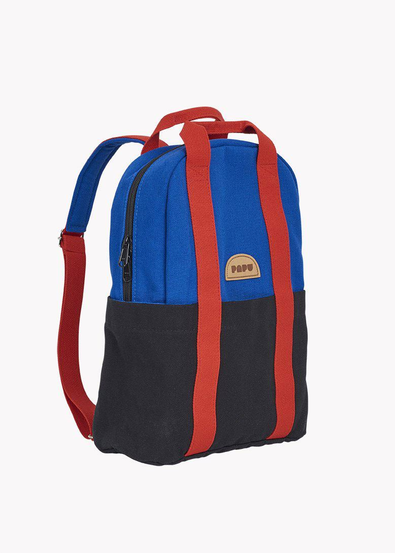 Mini Kivi Backpack Vivid Blue/Black/Lava Red