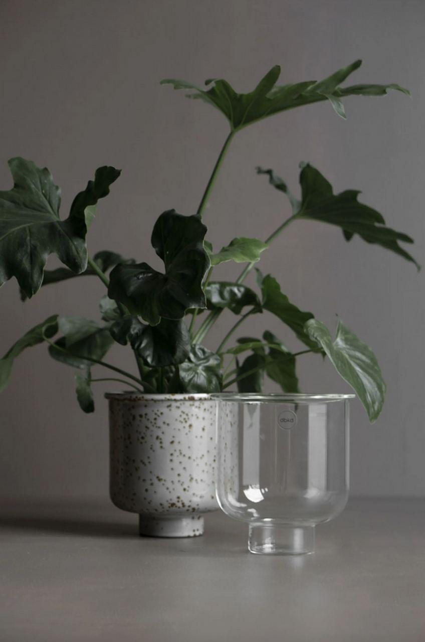 Blumentopf Glas Basic