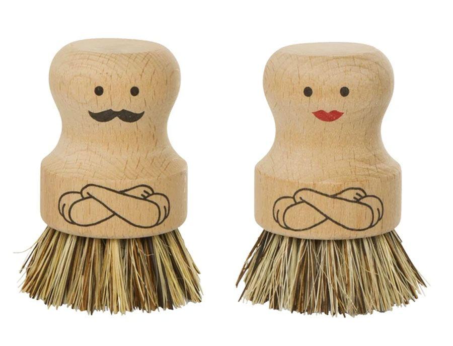 Mr. & Mrs. Scrubber Bürstenset