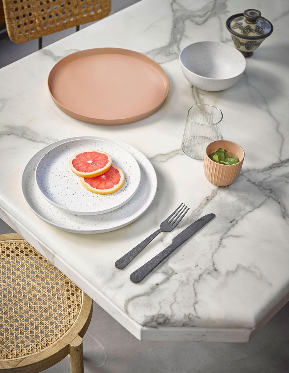 Bold&Basic Speckled Breakfast Plate