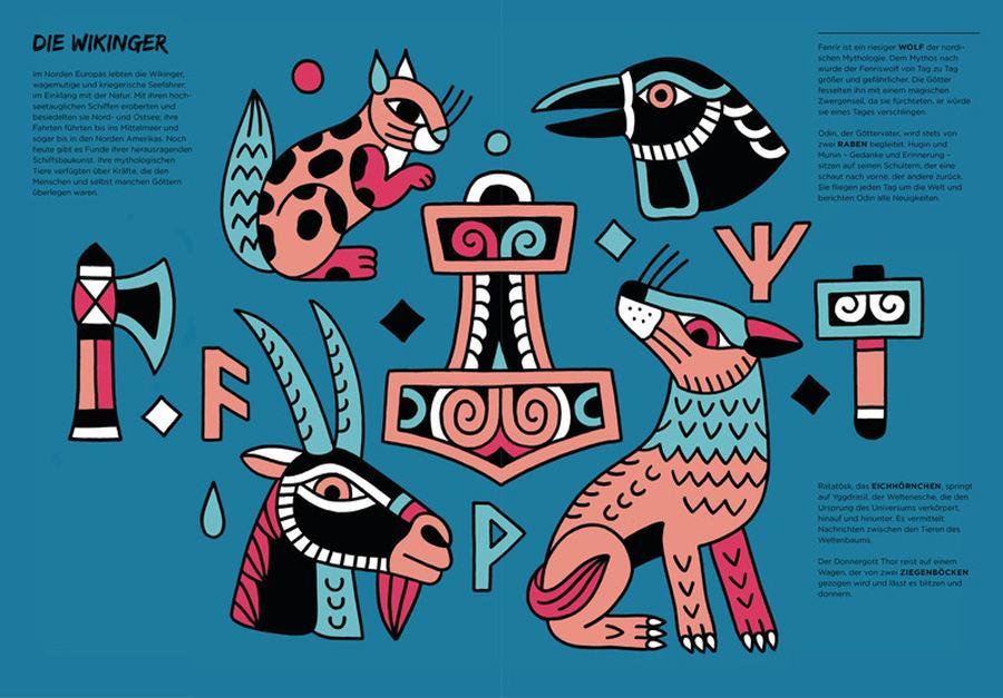 Die Welt der magischen Tiere