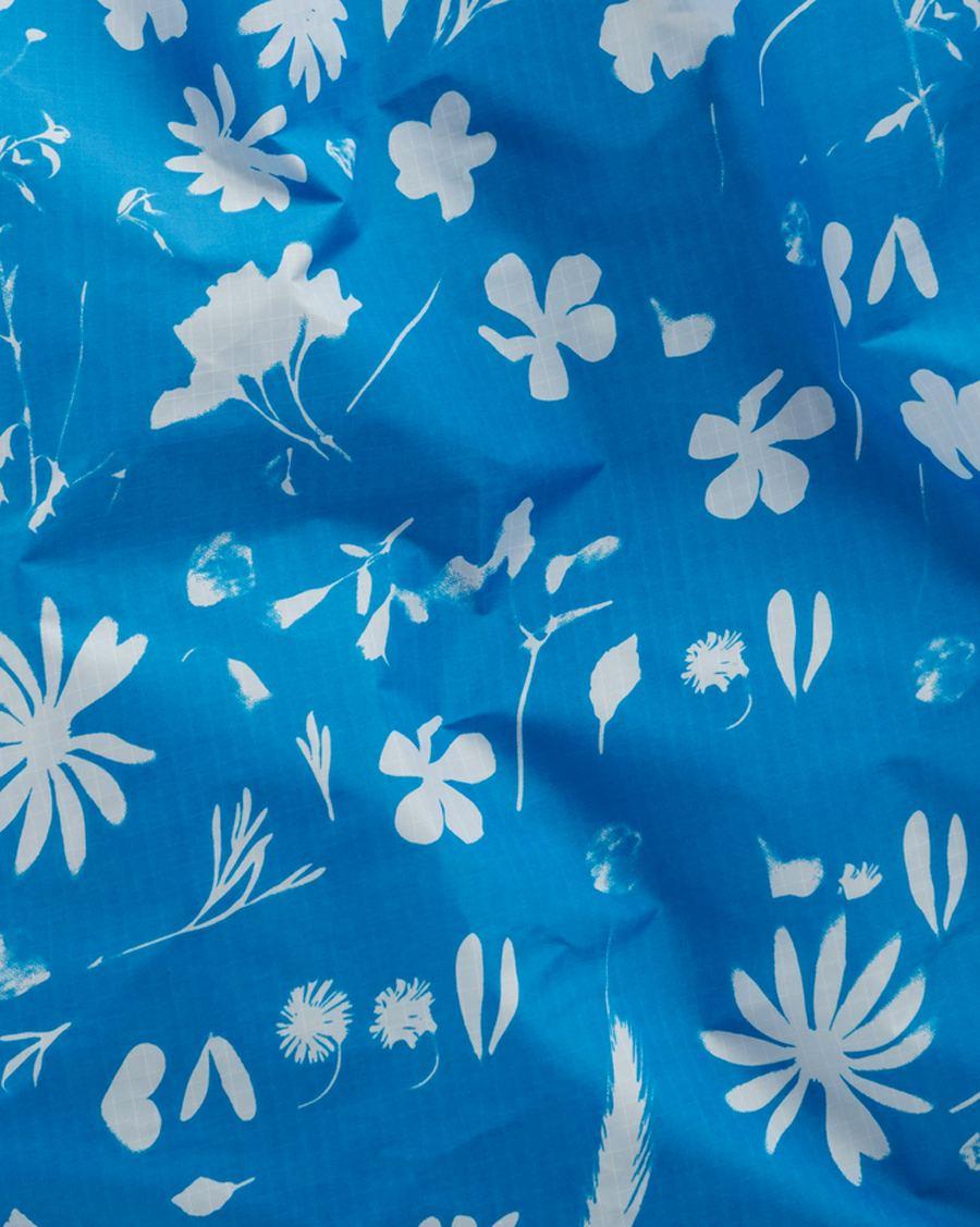 Einkaufsbeutel Blue Floral Sun
