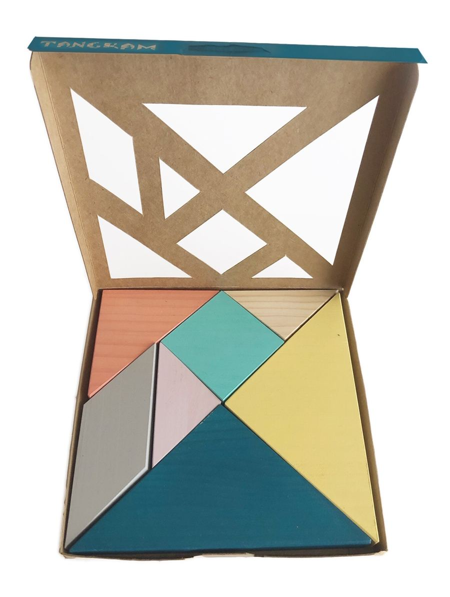 Tangram aus Holz