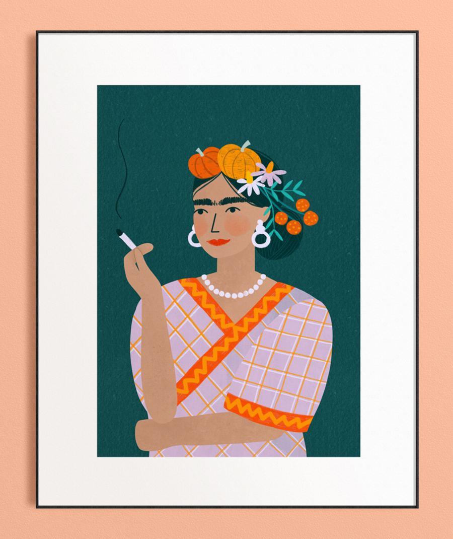 Pumpkin Lady Print (Din A3)