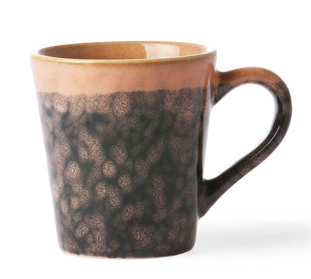 70's Espresso Mug Lava