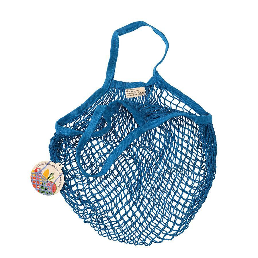 Einkaufsnetz Greek Blue (Bio-Baumwolle)