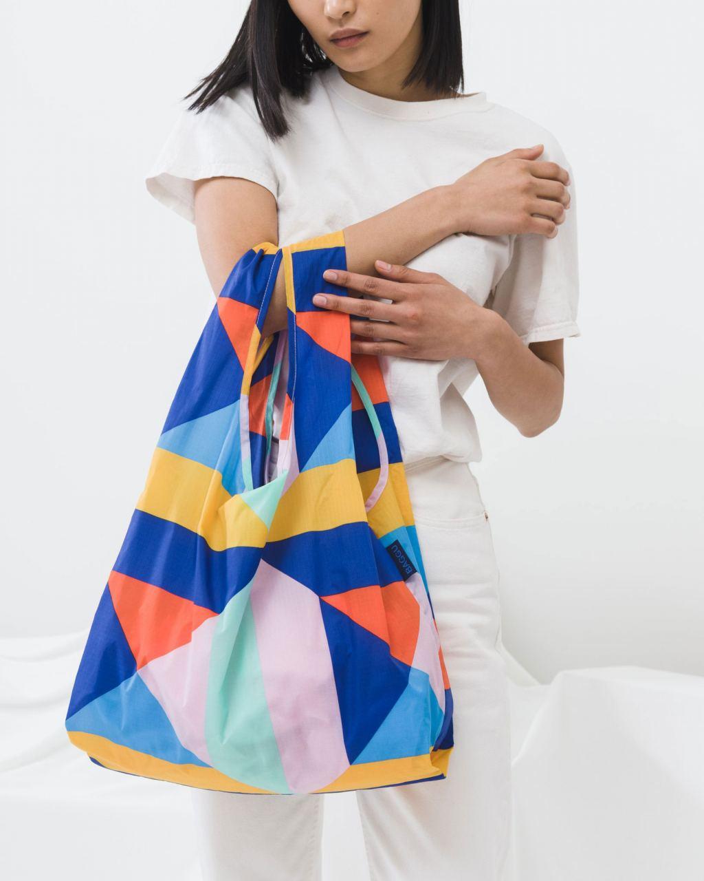 Einkaufsbeutel Quilt Block