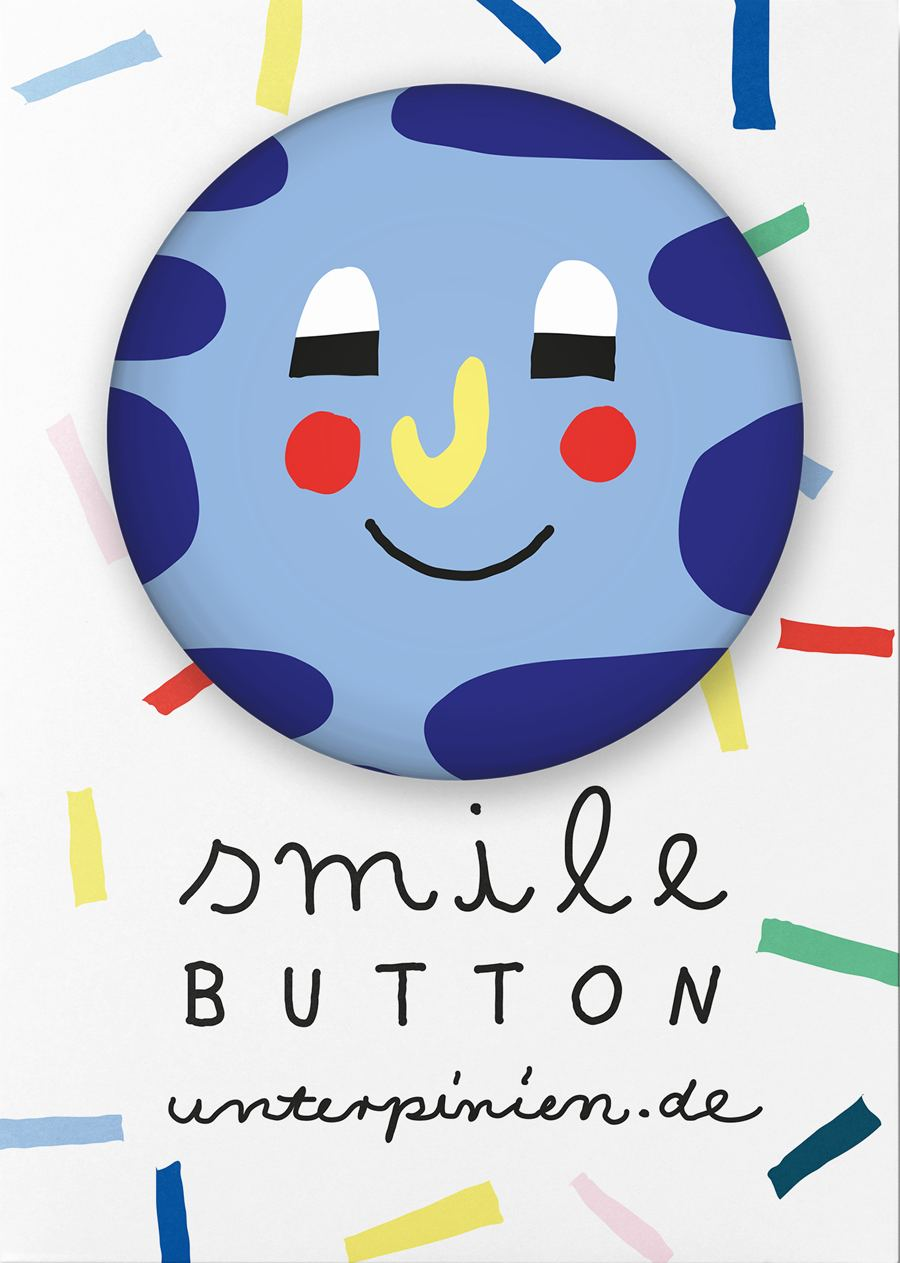 "Smile ""Relaxed"" Button"
