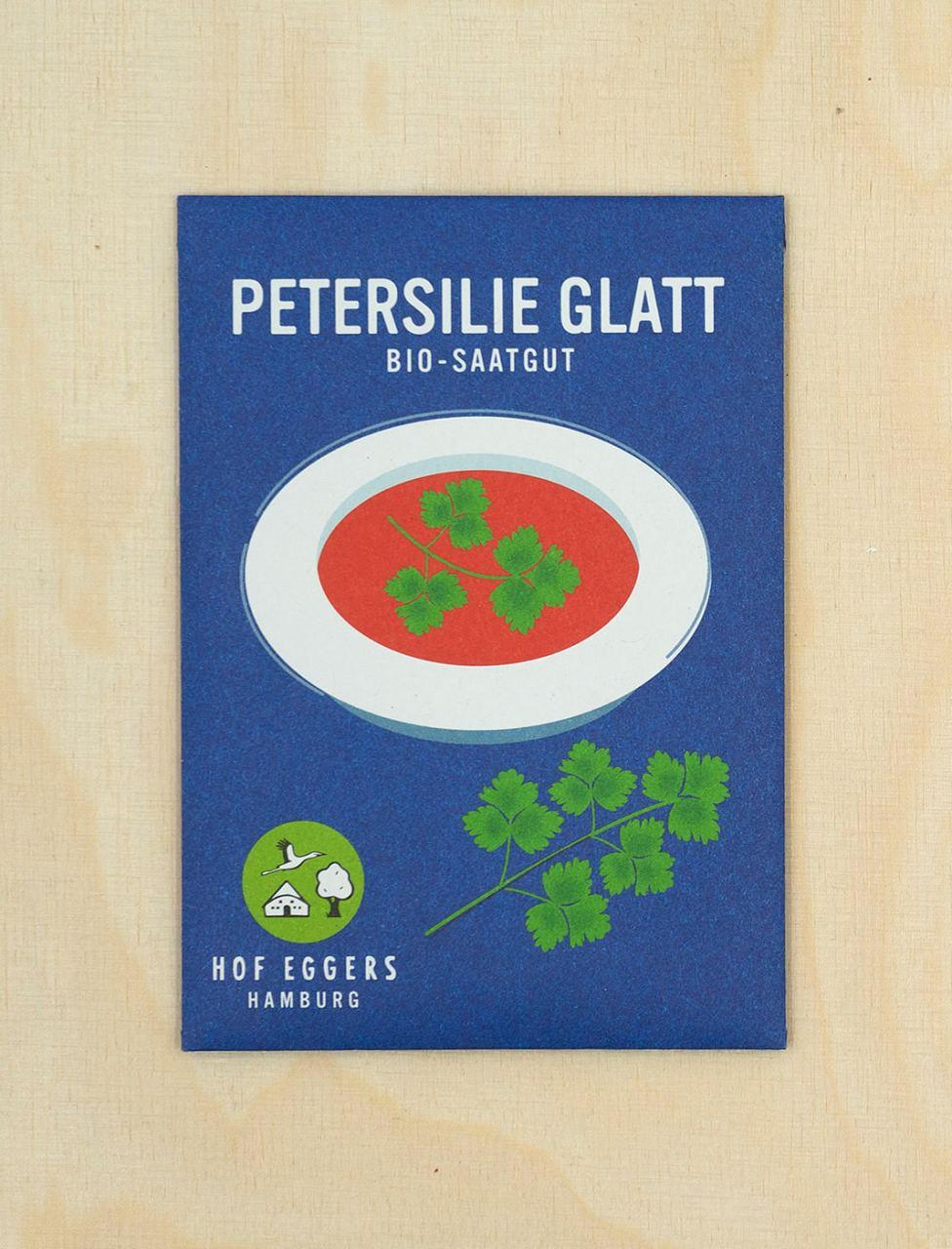 Petersilie Glatt, Bio-Saatgut