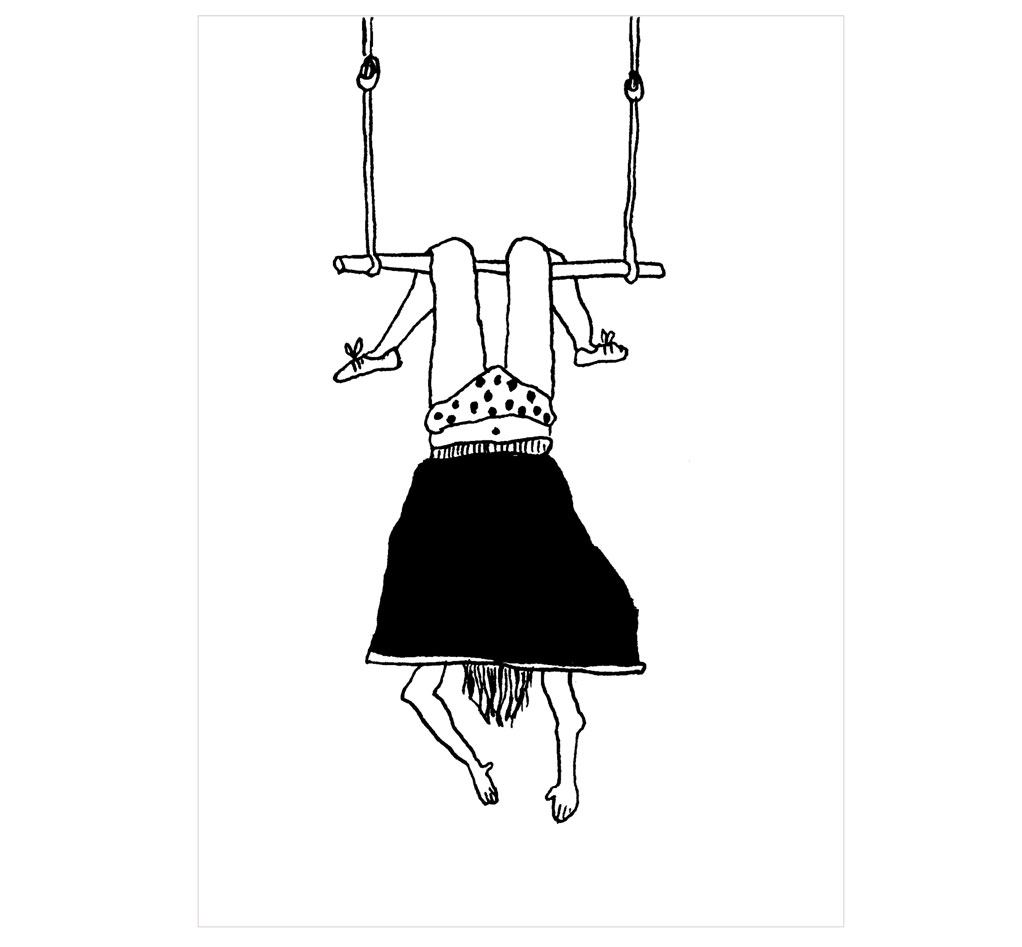 Trapeze Girl Poster (Din A3)