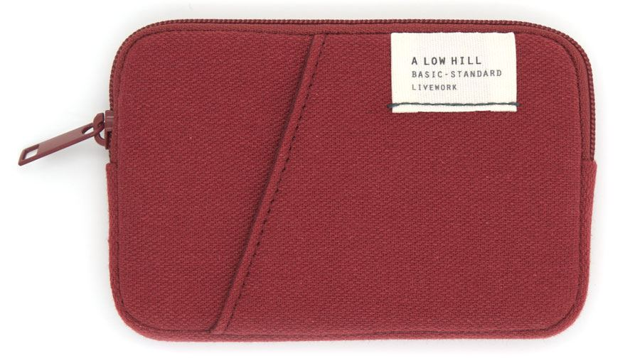Low Hill Card Case V3 Brick Red