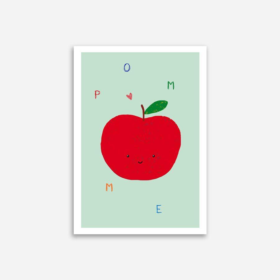 Pomme Poster (Din A4)