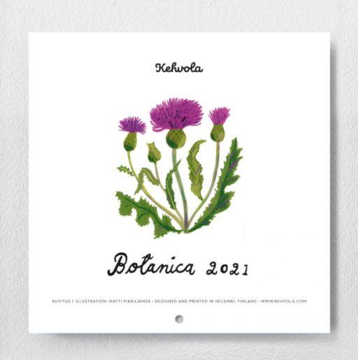 Kehvola Botanica Kalender 2021