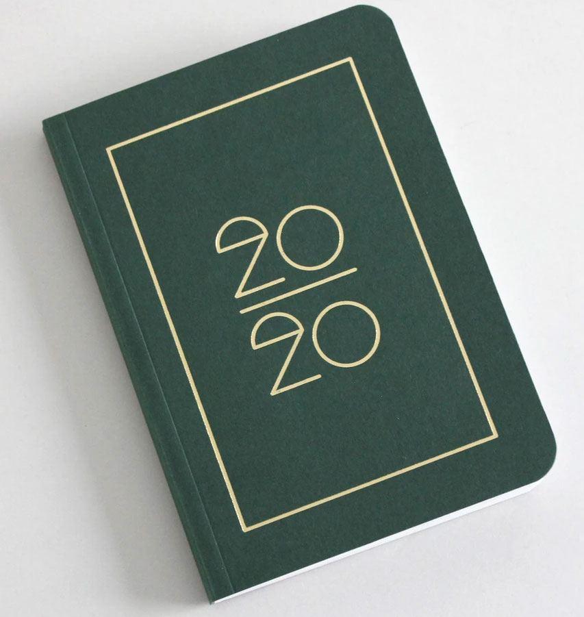 Pocket Kalender/Planner 2020 Dark Green