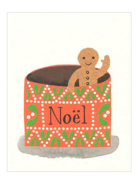 Gingerbread Klappkarte