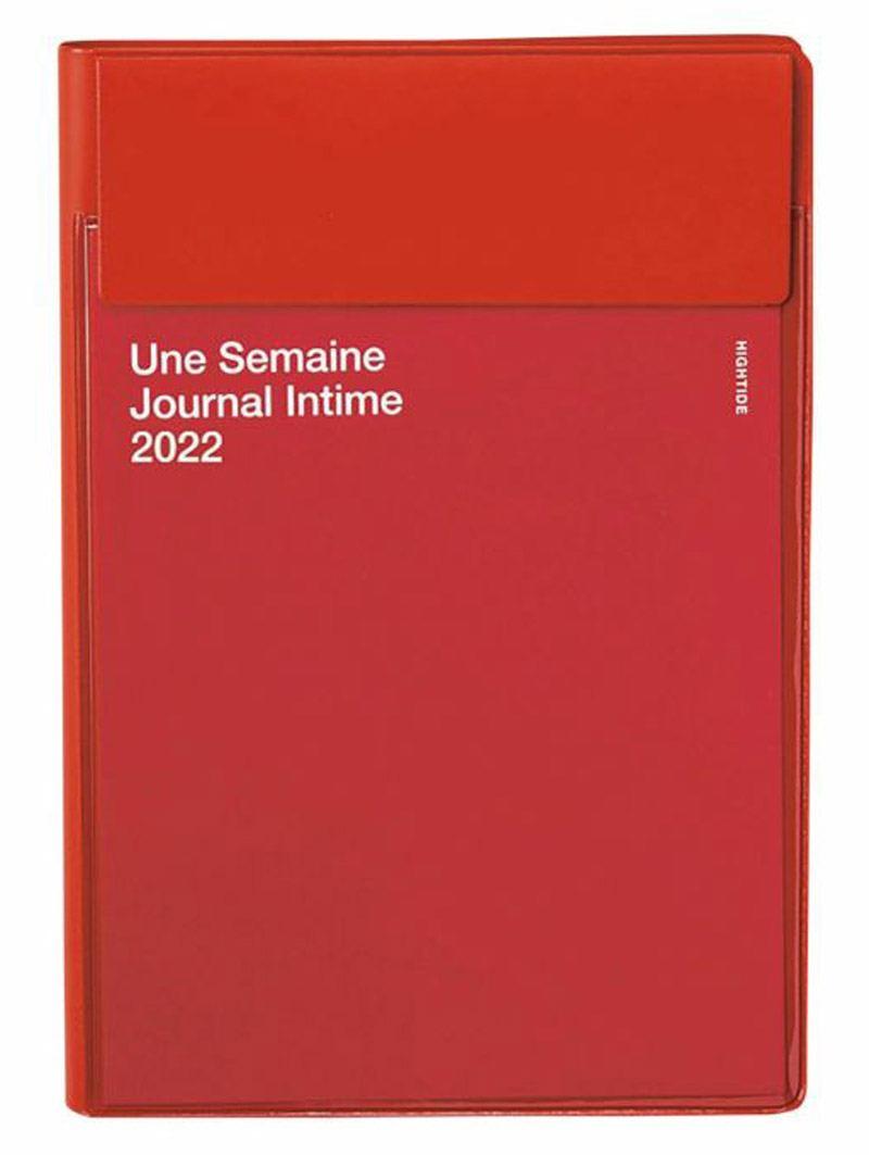 Iris 2022 Diary Red