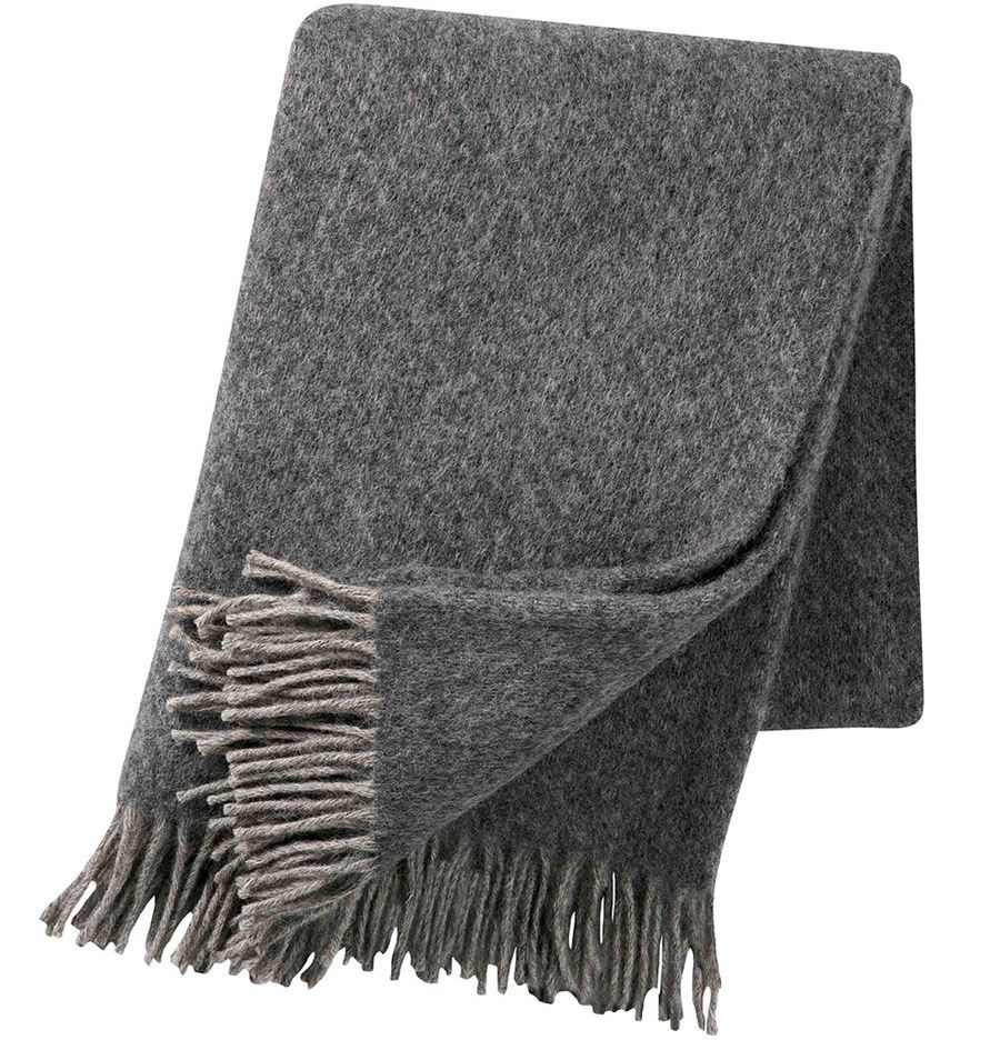 Fogg Decke Light Grey