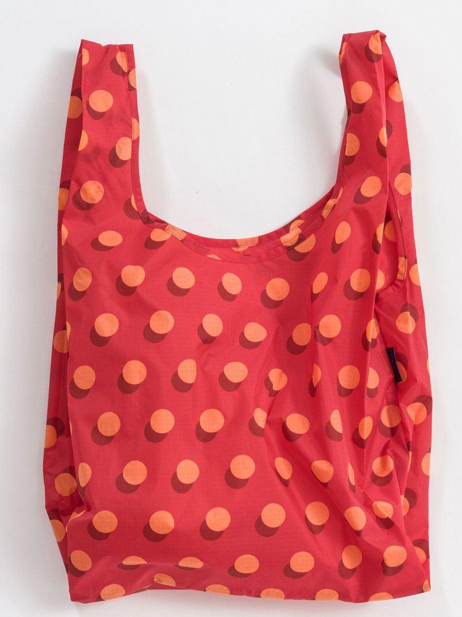 Einkaufsbeutel Disco Dot Red