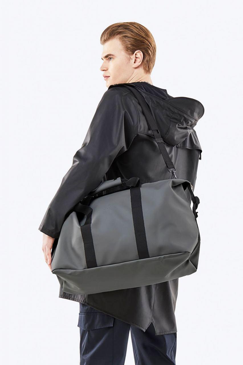 Rains Weekend Bag Charcoal