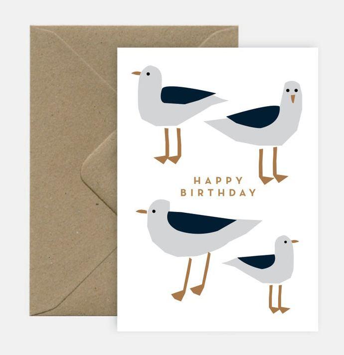 Seagulls Klappkarte