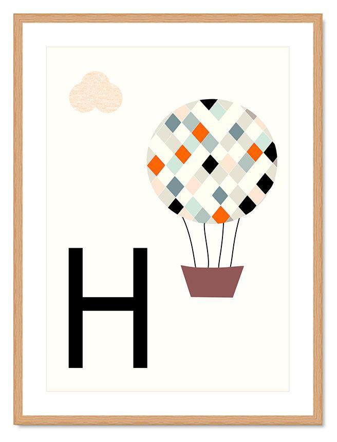 ABC Kinderprint - H