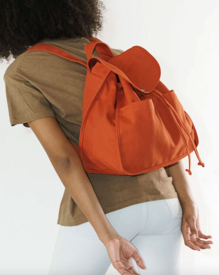 Drawstring Backpack Sienna
