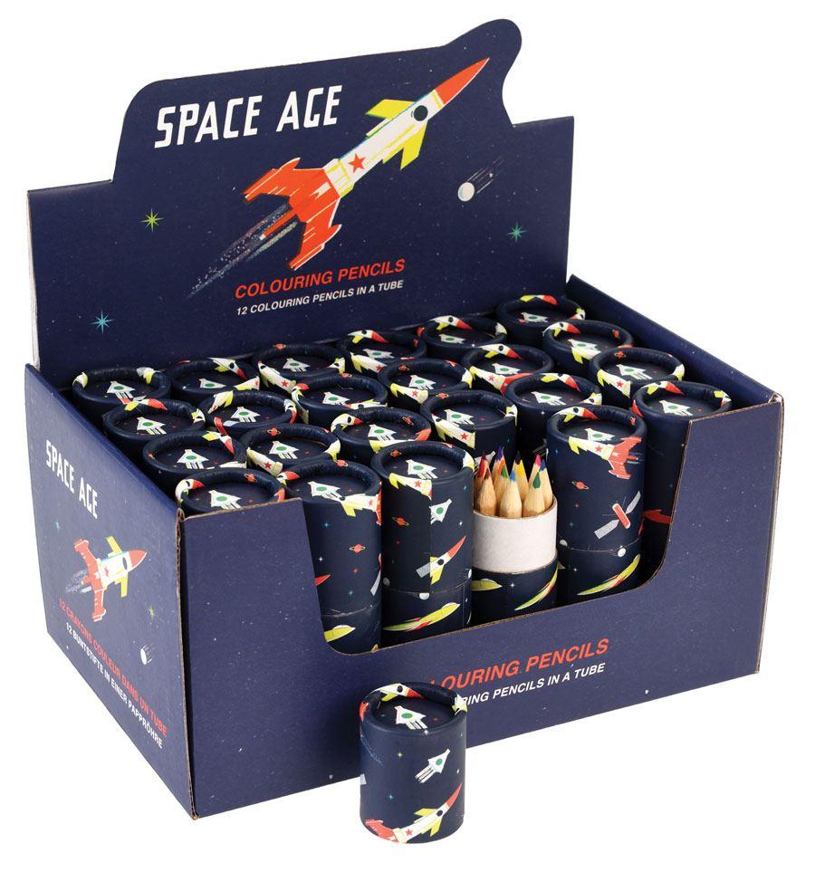 Buntstifte Space Age (12er Set)