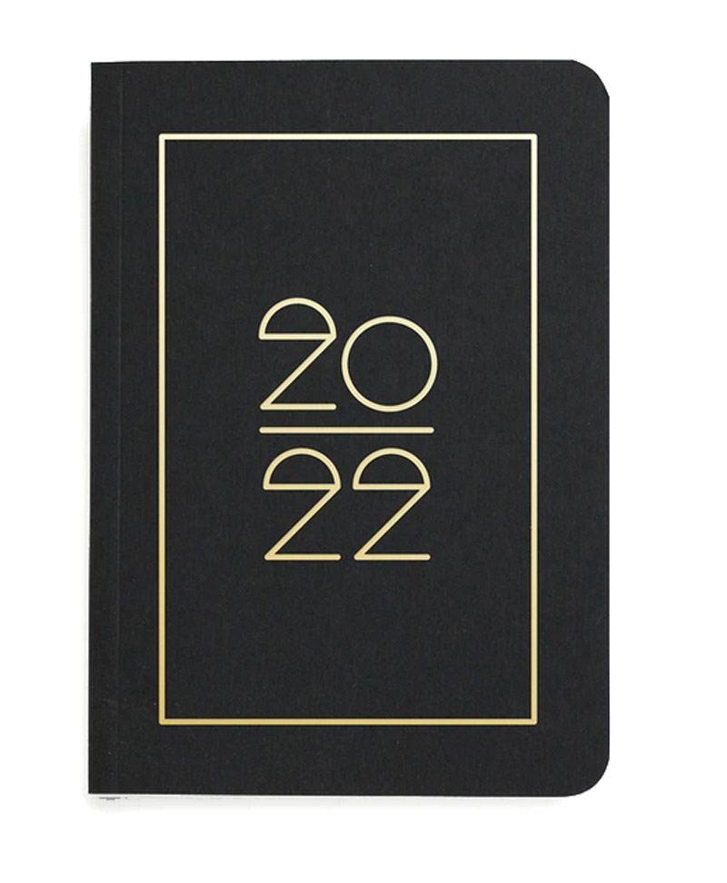 Pocket Planner 2022 Black