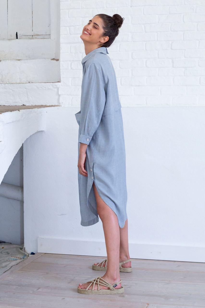 Adiela Kleid Stripes