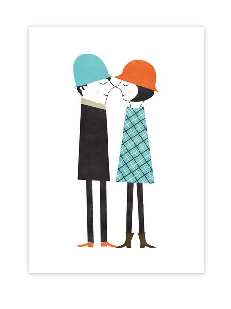 Couple Poster (50 x 70 cm)