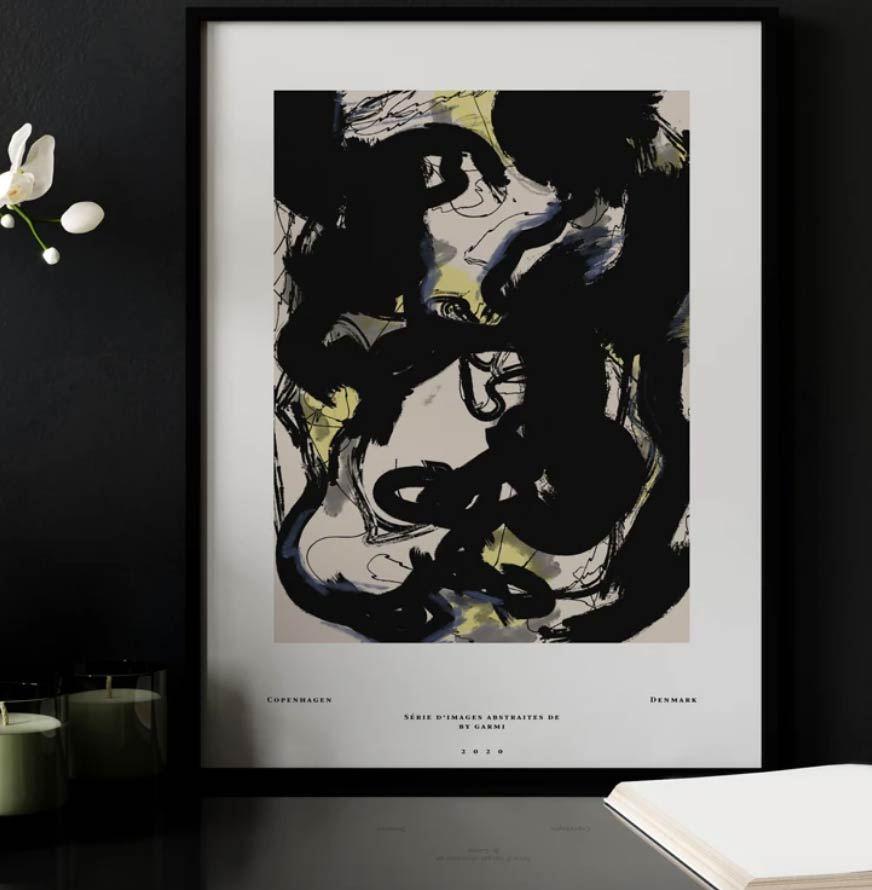 Étude 12 Poster (50 x 70 cm)