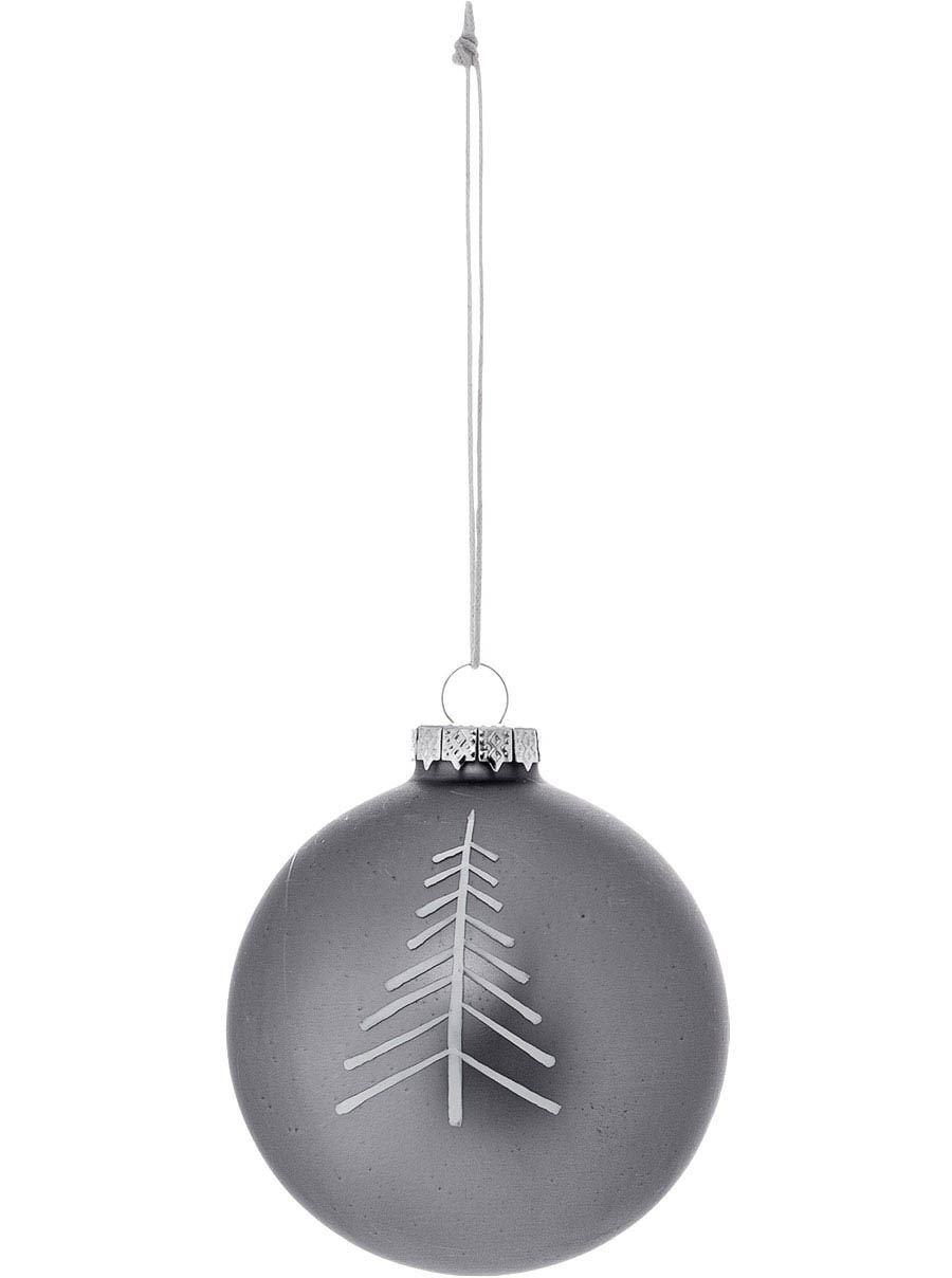 Ornament Glas Grey #2