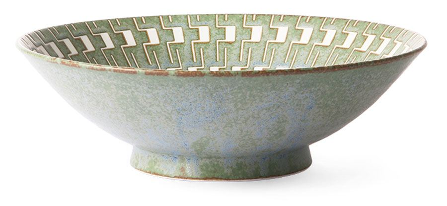 Kyoto Ceramics: Japanese Ceramic Salad Bowl