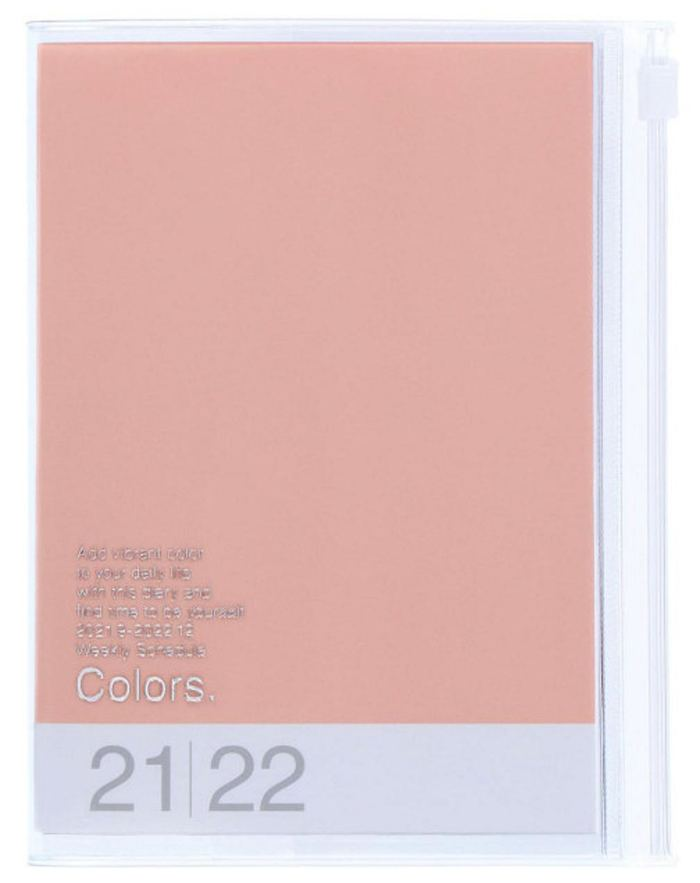 2022 Taschenkalender A6 Storage.it Pink