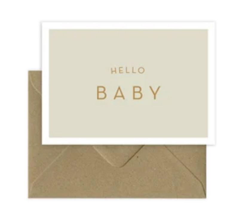 Hello Baby Klappkarte