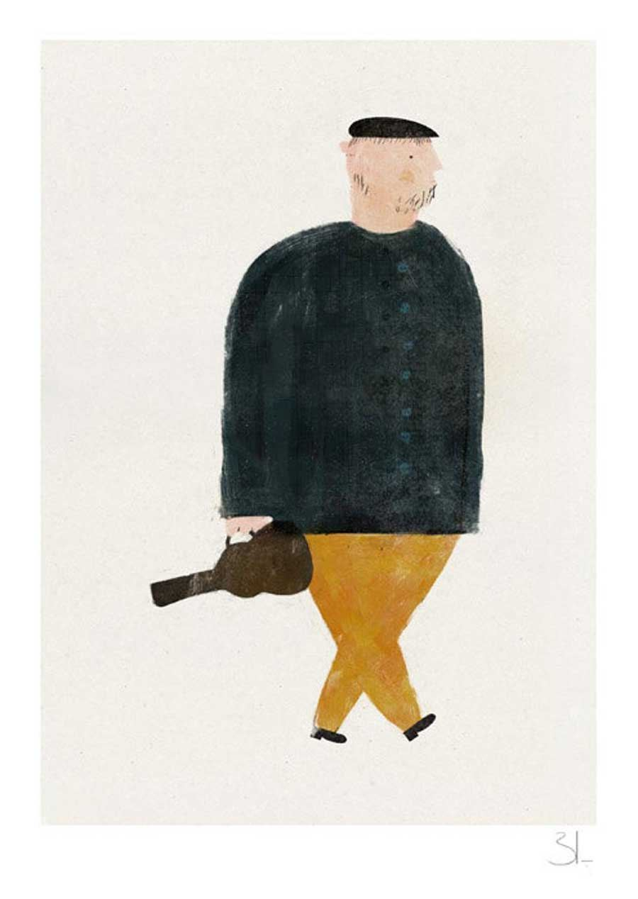 The Violinist Print (Din A4)