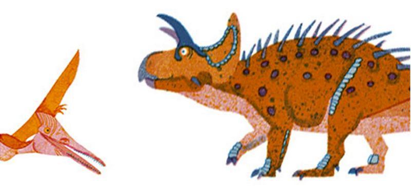 Washi Tape Dino