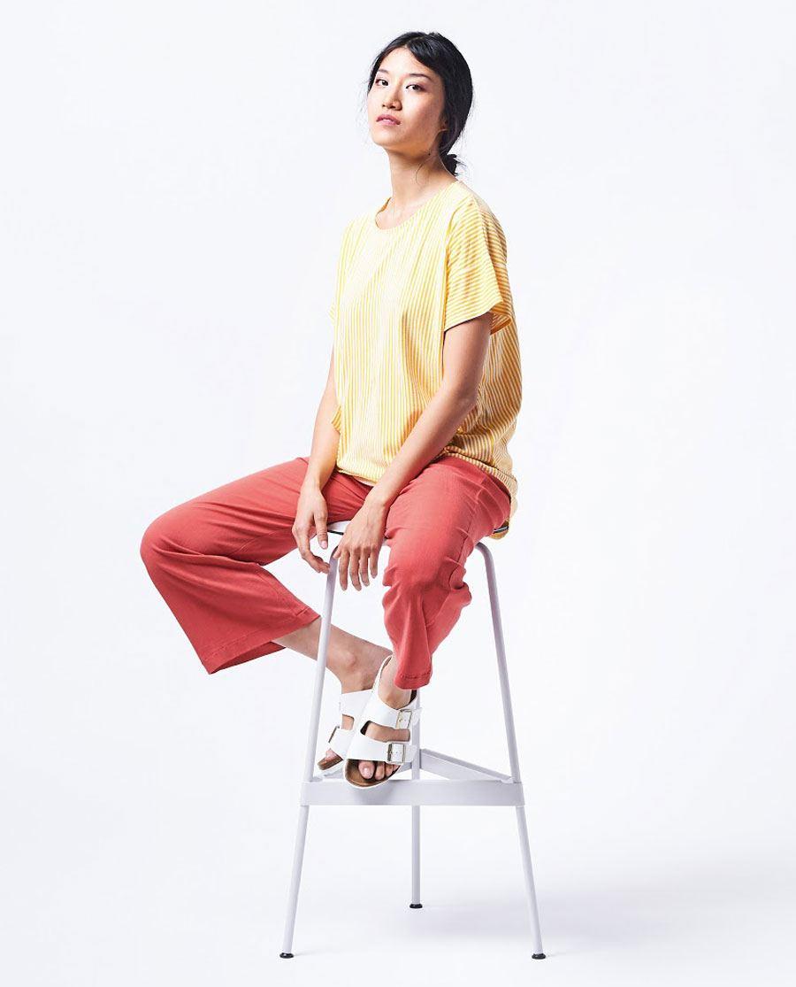 Aldous Shirt Off White Yellow