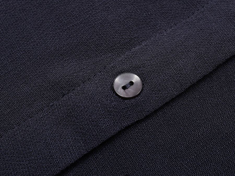 Polly Bluse Navy Blue