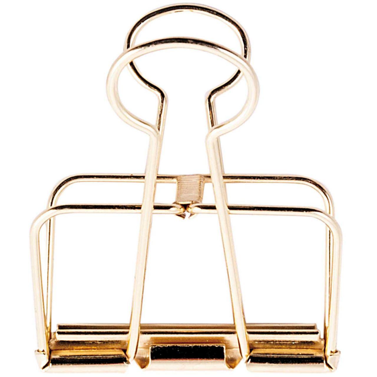 Wire Clip 51 cm Gold