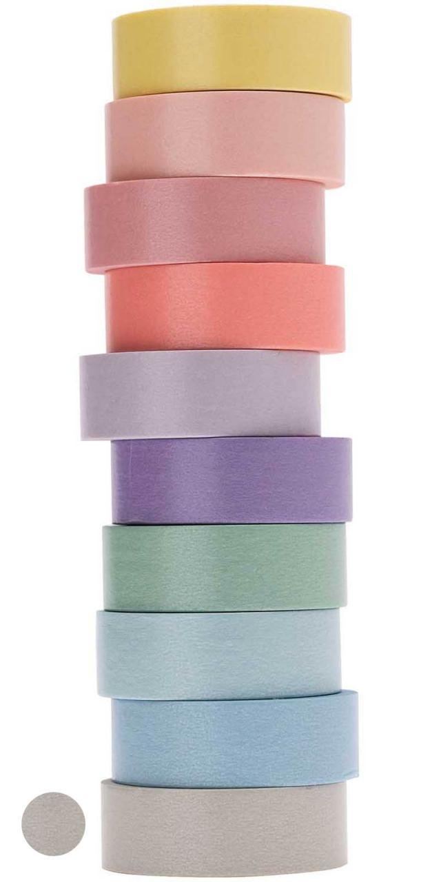 Tape Pastell-Grau