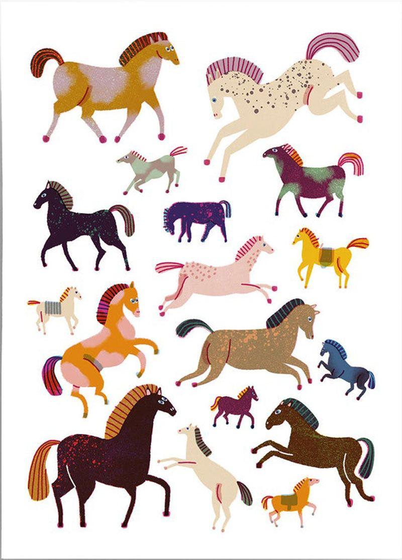 Horses Print (Din A3)