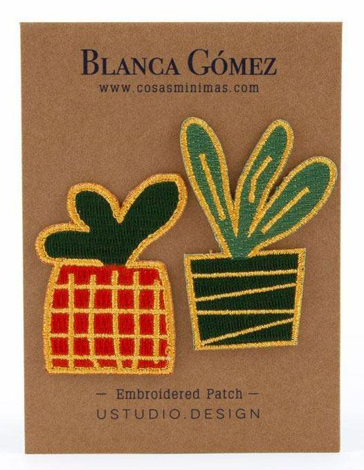 Blanca Gómez Little Plants Patch