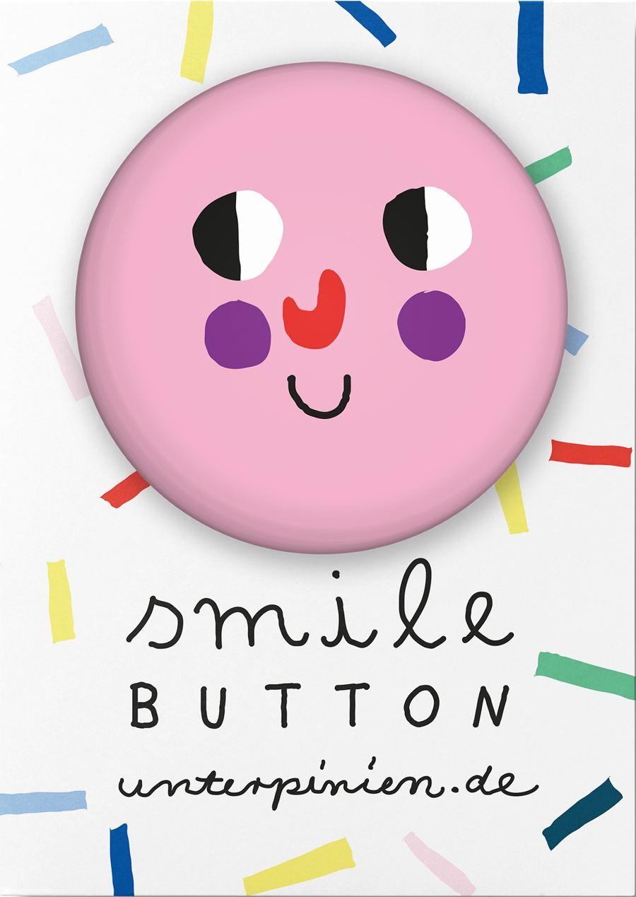 "Smile ""Sweet"" Button"