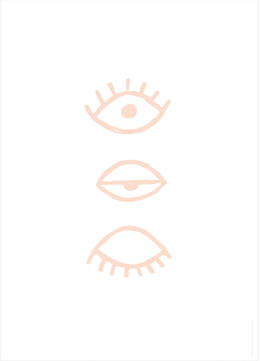 Eye Eye Poster Powder (50x70cm)