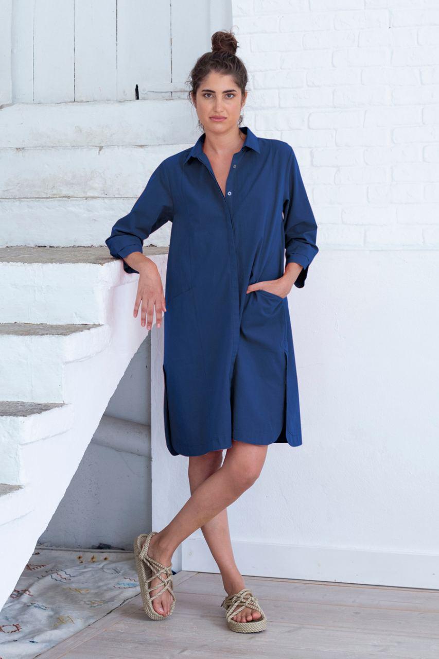 Selma Kleid Twilight Blue