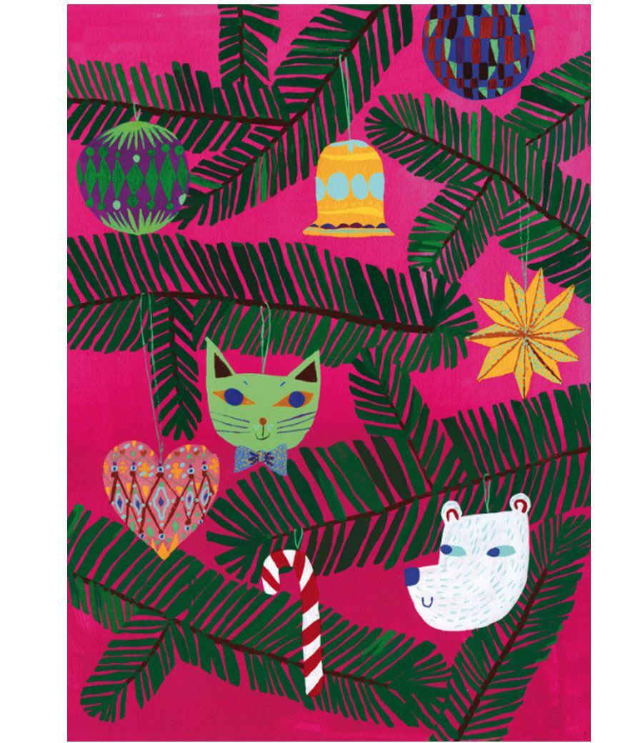 Oi Kuusipuu Postkarte