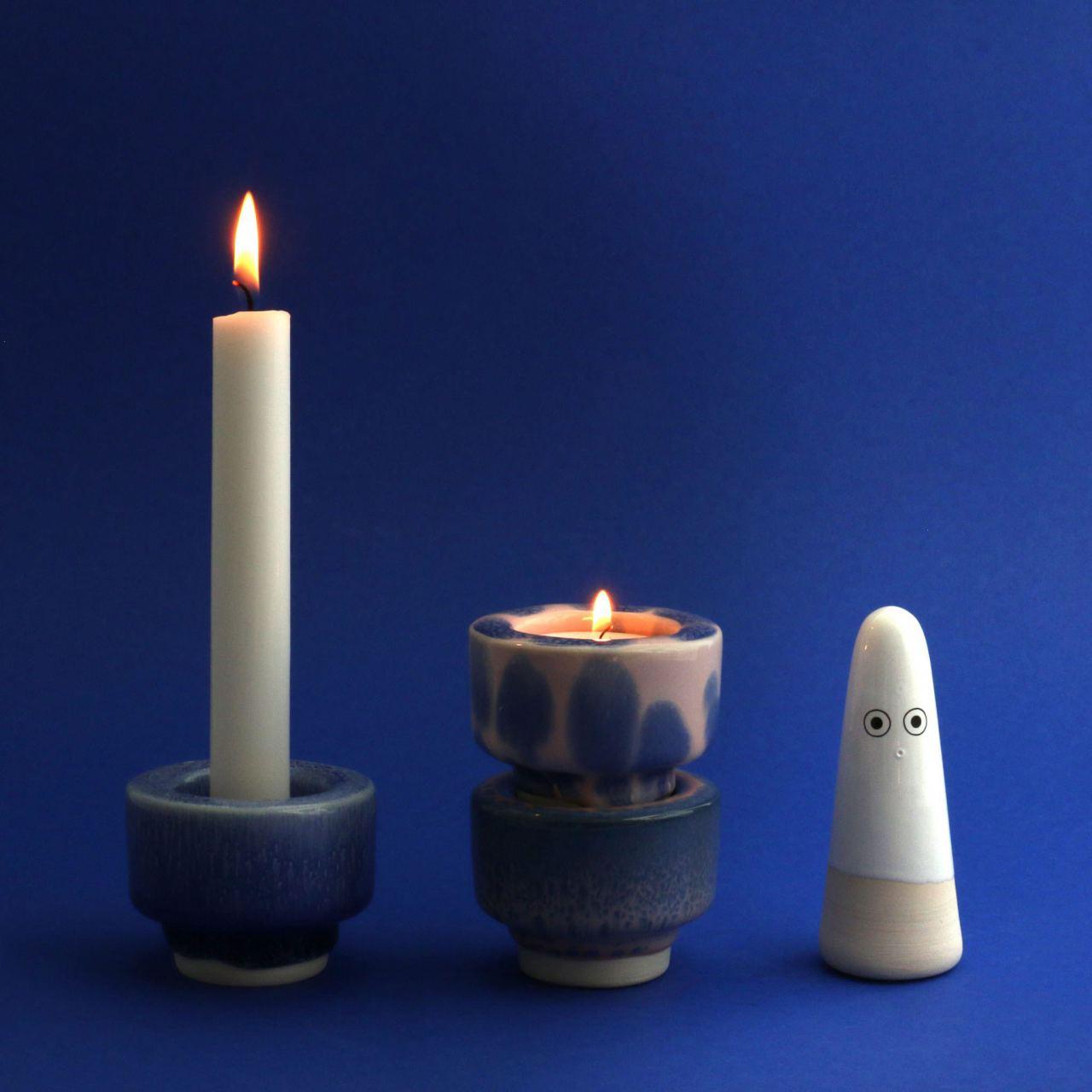Glow Kerzenhalter Warp Speed