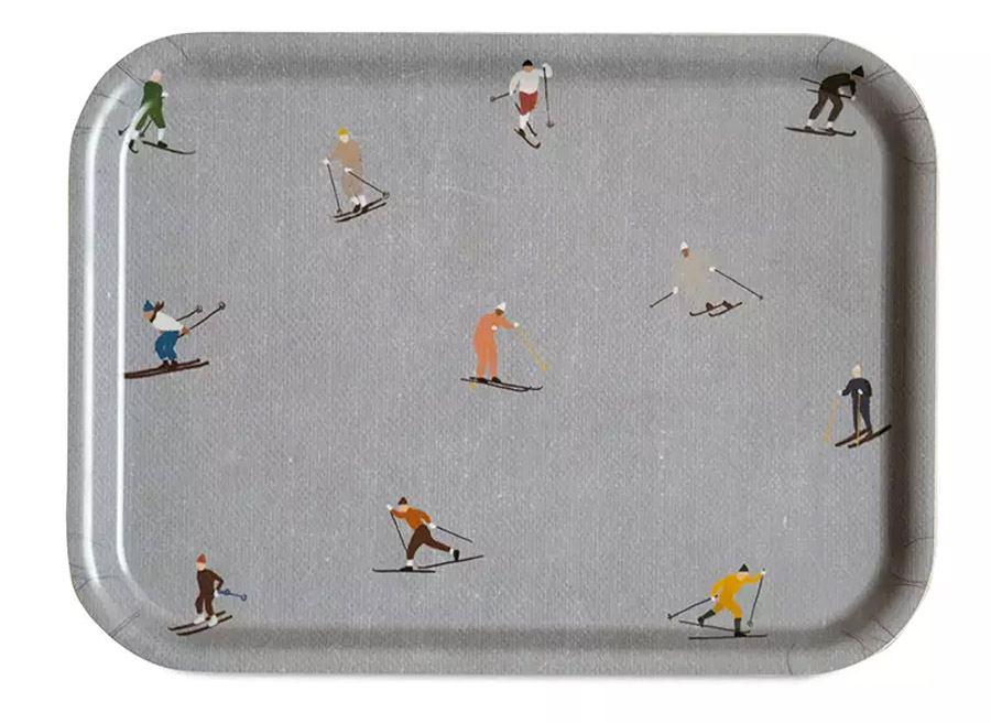 Skiers Tablett Klein